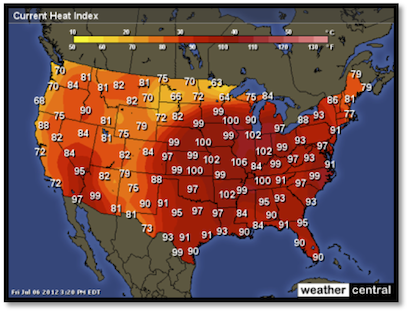 Current Us Heat Index Map How Workers Can Beat the Heat | National Medical Systems, Inc.
